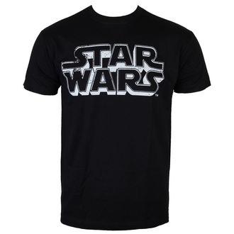 tričko pánské Star Wars - Distressed Logo - Black - HYBRIS, HYBRIS