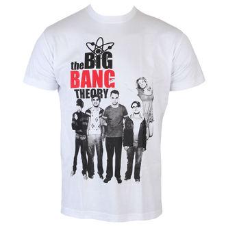 tričko pánské Teorie Velkého Třesku - Cast - White - HYBRIS - WB-1-TBBT012-H30-3-WH