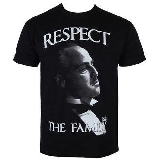tričko pánské Kmotr - Respect The Family - Black - HYBRIS - PM-1-TGF005-H26-15-BK