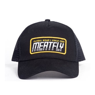 kšiltovka MEATFLY - Garage trucker - C-Black, MEATFLY