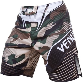 boxerské kraťasy pánské VENUM - Camo Hero - Green/Brown, VENUM