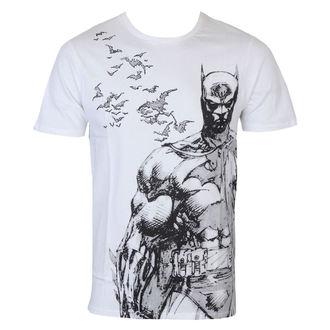 tričko pánské Batman - Bat Fly - White - LEGEND, LEGEND, Batman