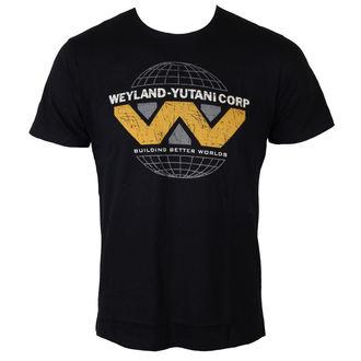 tričko pánské Alien (Vetřelec) - Weyland Yutani Logo - Black - LEGEND