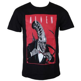tričko pánské Alien (Vetřelec) - Smoking Comics Cover - Black - LEGEND, LEGEND, Alien - Vetřelec