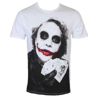 tričko pánské Batman - Joker Poker - White - LEGEND - METDKTMTS003