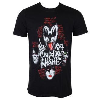 tričko pánské KISS - Creatures - PLASTIC HEAD, PLASTIC HEAD, Kiss