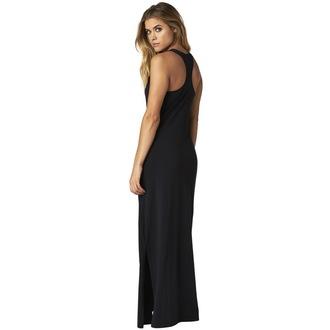 šaty dámské FOX - Screen Maxi - Black