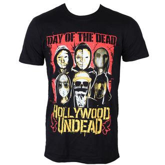 tričko pánské Hollywood Undead - Dotd Faces - PLASTIC HEAD - PH9613
