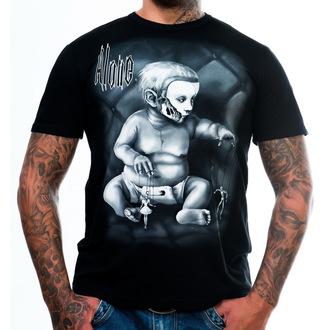 tričko pánské ART BY EVIL - Alone - Black - ABE003