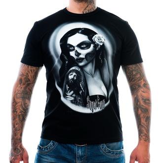 tričko pánské ART BY EVIL - Sugar Face - Black - ABE005