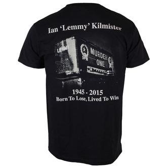 tričko pánské Motörhead - Lemmy Lived To Win - ROCK OFF, ROCK OFF, Motörhead