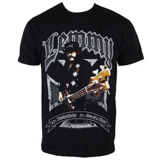 tričko pánské Motörhead - Lemmy Iron Cross 49 Percent - ROCK OFF - LEMTS01MB