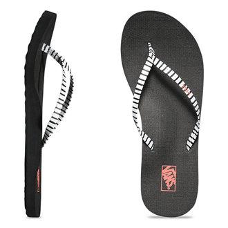 sandály dámské VANS - Malta Print - Just Stripes - Black/White, VANS