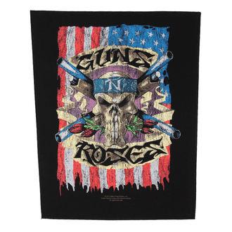 nášivka velká Guns N' Roses - Flag - RAZAMATAZ, RAZAMATAZ, Guns N' Roses