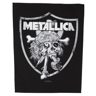 nášivka velká Metallica - Raiders Skull - RAZAMATAZ, RAZAMATAZ, Metallica