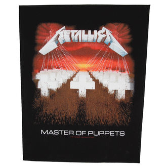 nášivka velká Metallica - Master Of Puppets - RAZAMATAZ, RAZAMATAZ, Metallica