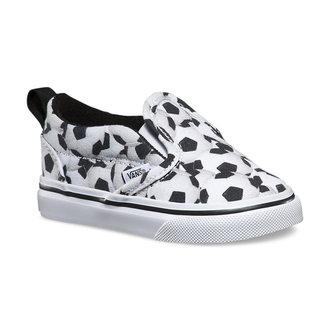 boty dětské VANS - Slip-On (Sports) - Soccer - Black/White, VANS