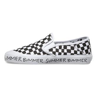 boty dámské VANS - Slip-On (Summer Bummer) Checkeboard