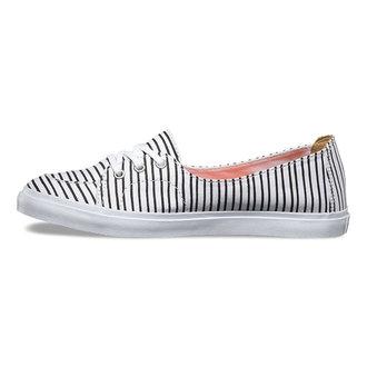 boty dámské VANS - Palisades (Just Stripes) - True White/BLK