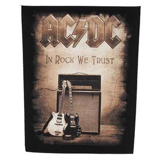 nášivka velká AC/DC - In Rock We Trust - RAZAMATAZ, RAZAMATAZ, AC-DC