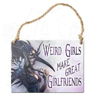 cedulka ALCHEMY GOTHIC - Weird Girls Make Great Girlfriends, ALCHEMY GOTHIC