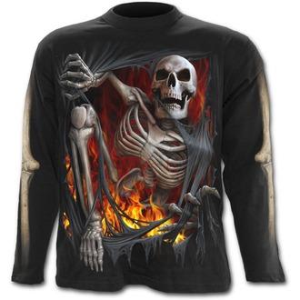 tričko pánské s dlouhým rukávem SPIRAL - Death Re-Ripped - T110M301