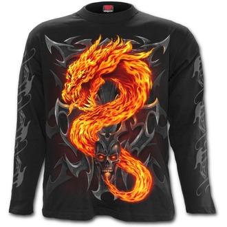 tričko pánské s dlouhým rukávem SPIRAL - Fire Dragon - T112M301