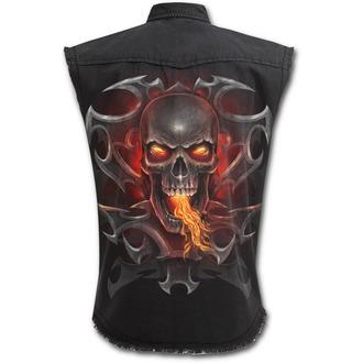 košile pánská bez rukávů SPIRAL - Fire Dragon - T112M602