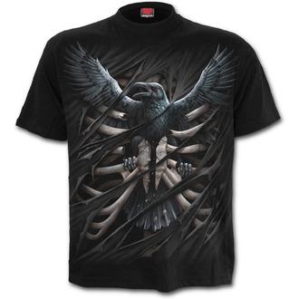 tričko pánské SPIRAL - Raven Cage - T125M101