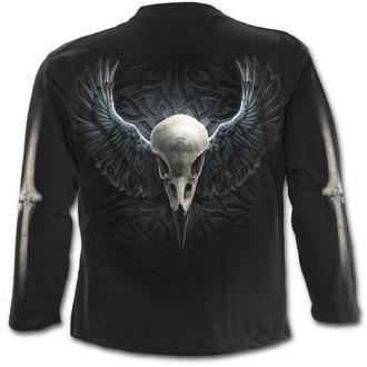 tričko pánské s dlouhým rukávem SPIRAL - Raven Cage