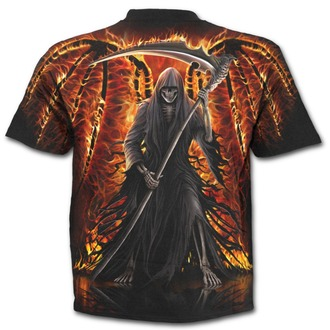 tričko pánské SPIRAL - Flaming Death - W021M105