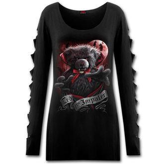 tričko dámské s dlouhým rukávem SPIRAL - Ted The Impaler - Teddy Bear - F028F454