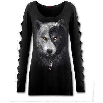 tričko dámské s dlouhým rukávem SPIRAL - Wolf Chi - T118F454