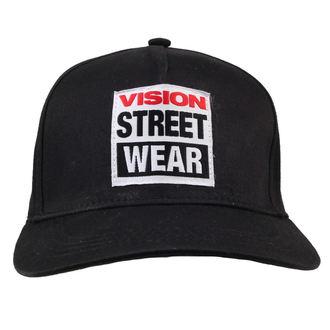 kšiltovka VISION - EMB Logo - Black, VISION