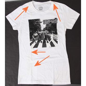 tričko dámské Beatles - Abbey Road - BRAVADO - POŠKOZENÉ, BRAVADO, Beatles