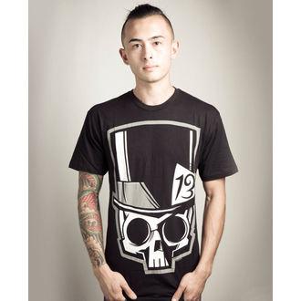 tričko pánské Akumu Ink - Skull13 - Grey- POŠKOZENÉ - N476