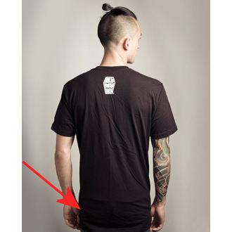 tričko pánské Akumu Ink - Skull13 - Grey- POŠKOZENÉ