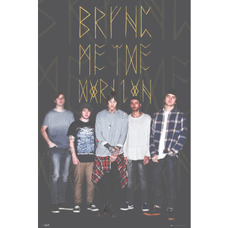 plakát Bring Me The Horizon - Group Black - GB posters, GB posters, Bring Me The Horizon