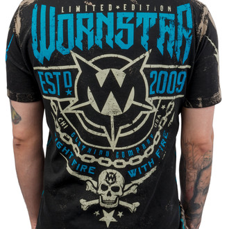 tričko pánské WORNSTAR - Fight Fire With Fire