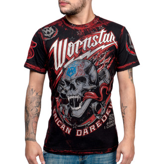 tričko pánské WORNSTAR - American Daredevil - WSUS-AMDD