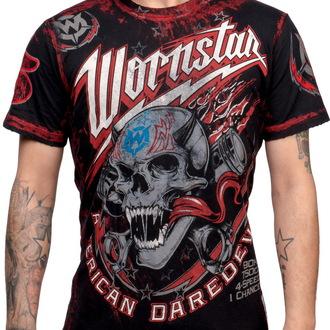 tričko pánské WORNSTAR - American Daredevil