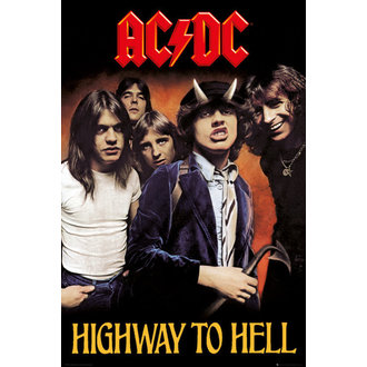 plakát AC/DC - Highway To Hell - GB posters, GB posters, AC-DC