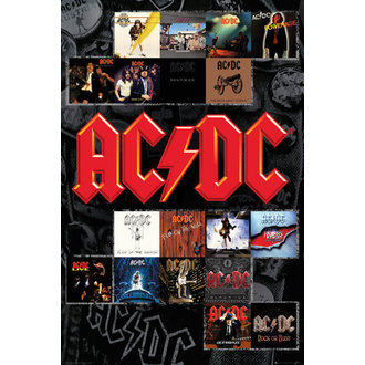 plakát AC/DC - Covers - GB posters, GB posters, AC-DC