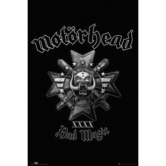 plakát Motörhead - Bad Magic - GB posters - LP1990