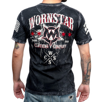 tričko pánské WORNSTAR - Death Mechanic - Grey, WORNSTAR