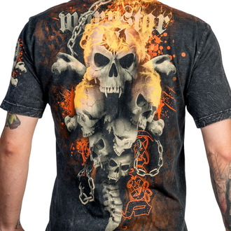 tričko pánské WORNSTAR - Destroy - Black