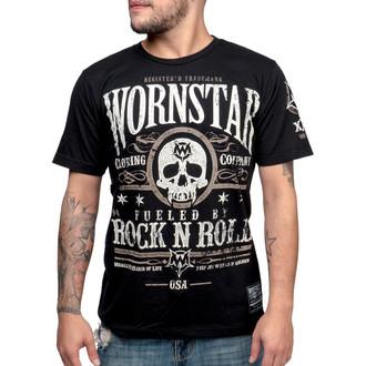tričko pánské WORNSTAR - Elixir - Black - WSUS-ELIX