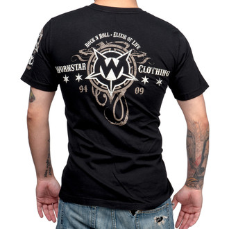 tričko pánské WORNSTAR - Elixir - Black, WORNSTAR