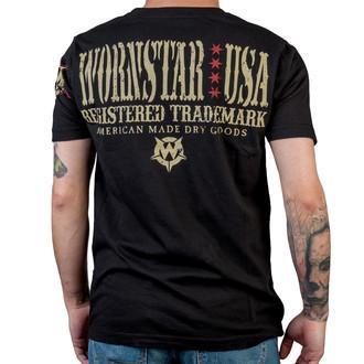 tričko pánské WORNSTAR - Halo - Black, WORNSTAR