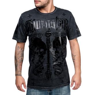tričko pánské WORNSTAR - Transform - Grey - WSUS-TRANK